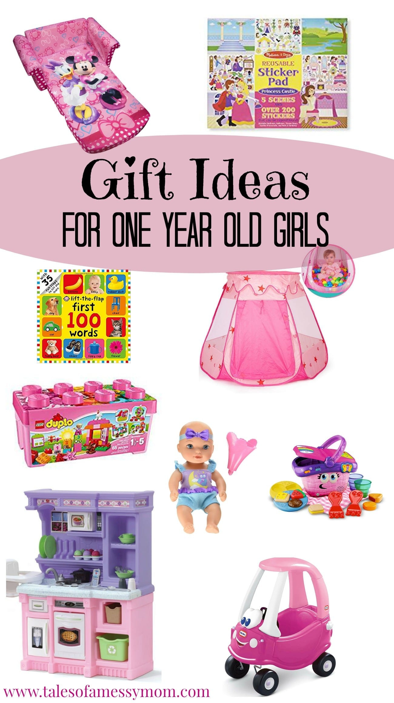 Baby Girl One Year Old Gift Ideas  Gift Ideas for e Year Old Girls Tales of a Messy Mom