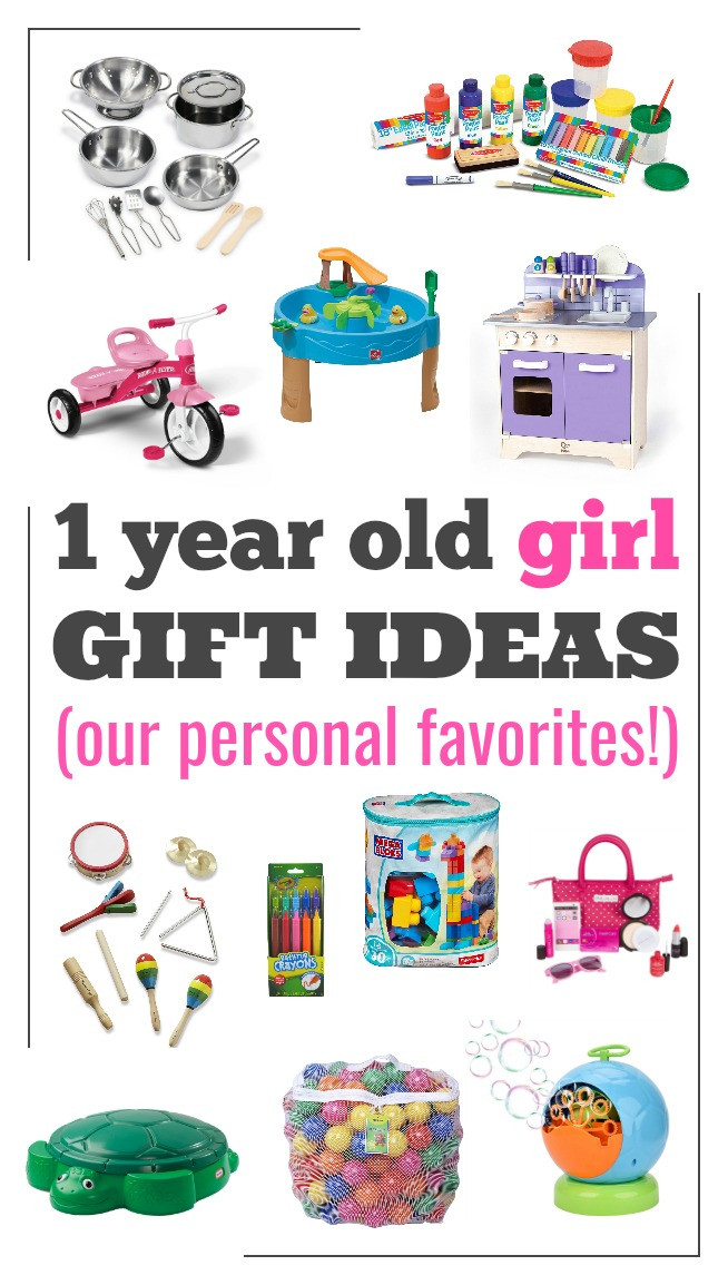Baby Girl One Year Old Gift Ideas  Laura s Plans Best one year old t ideas for a girl