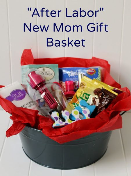 Baby Shower Gift Ideas For Mom And Dad  Create a DIY New Mom Gift Basket for After Labor