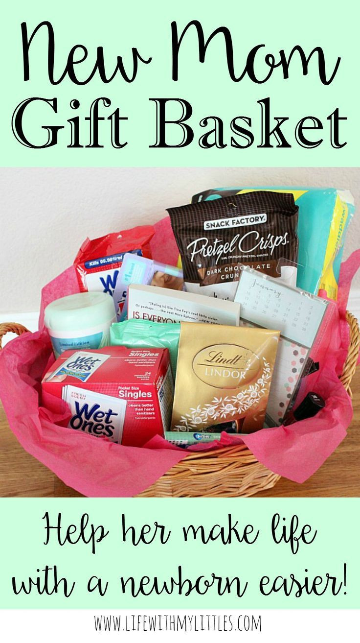 Baby Shower Gift Ideas For Mom And Dad  New Mom Gift Basket