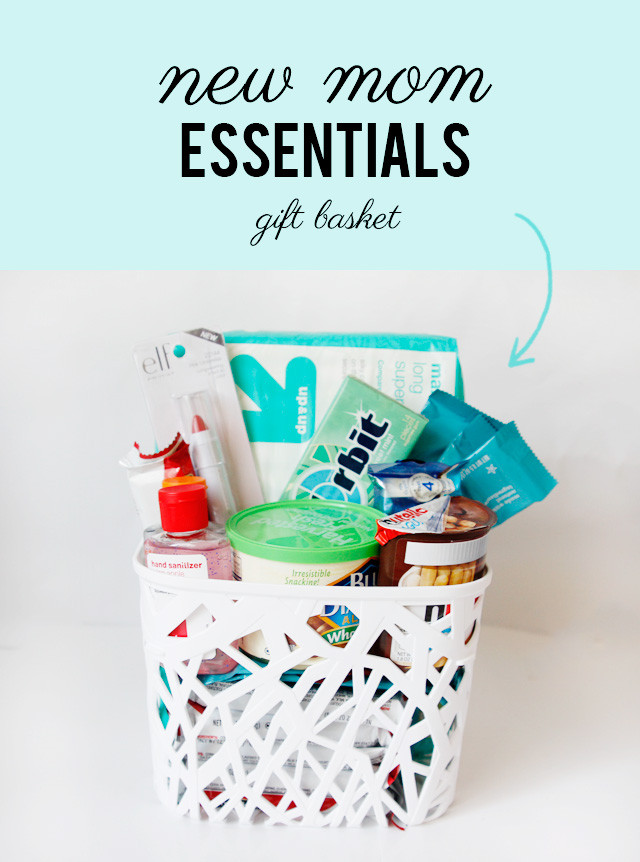 Baby Shower Gift Ideas For Mom And Dad  what to bring a new mom new mom essentials t basket