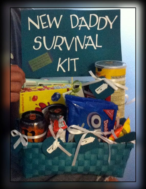 Baby Shower Gift Ideas For Mom And Dad  Gift Basket I made for a new dad