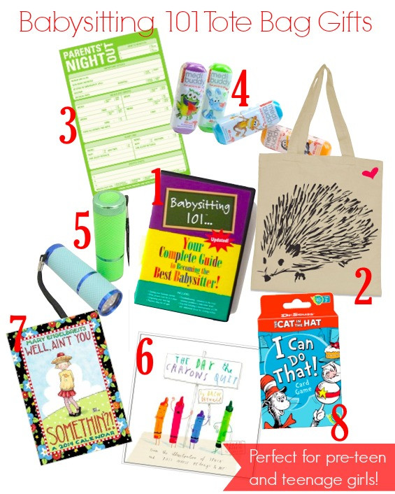 Babysitter Gift Ideas  How to Help Your Daughter s New Babysitting Business