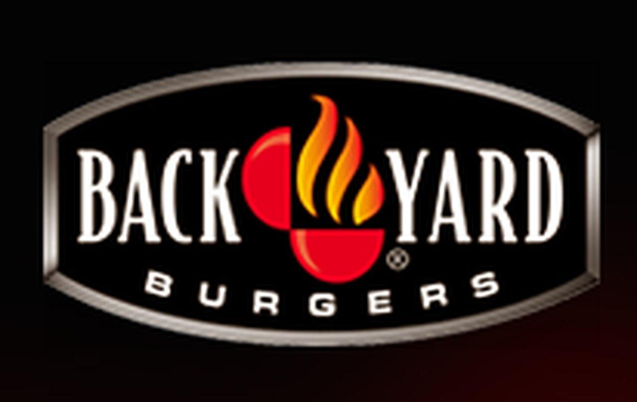 Backyard Burgers Destin  Backyard Burgers Logo Backyard Ideas