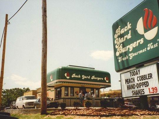 Backyard Burgers Destin  Delta born Back Yard Burgers stays true to Miss roots