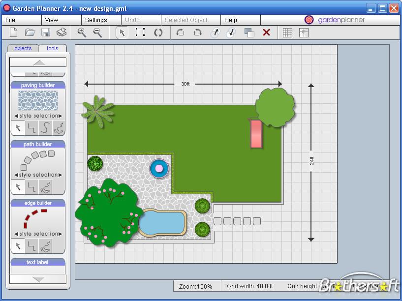 Backyard Design Tools  line Garden Design Tool Design Vine
