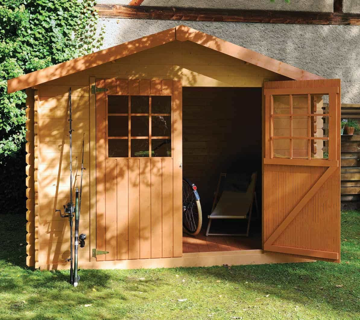 Backyard Design Tools  Build Your Own Tool Shed