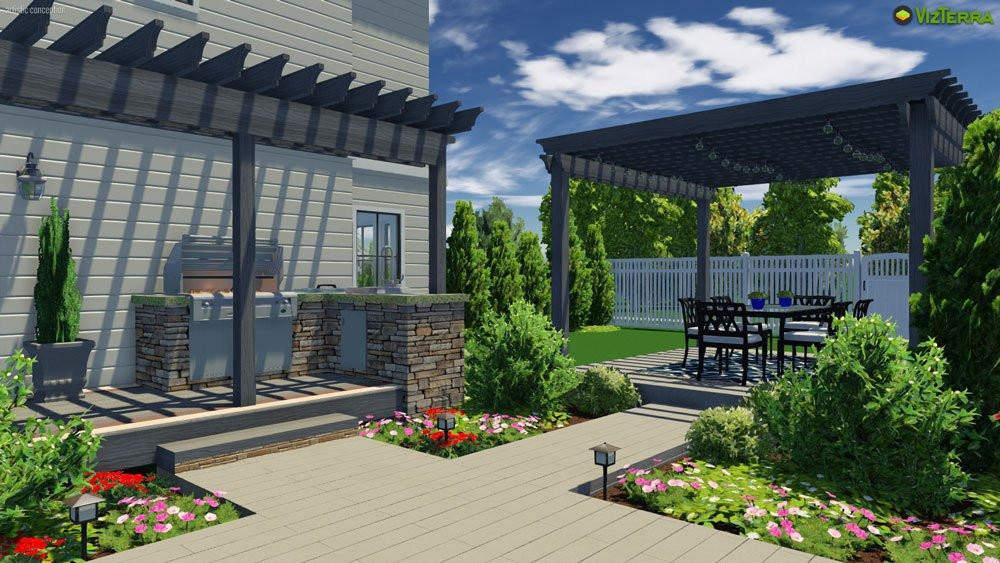 Backyard Design Tools  3D Landscape Design Software Made Easy
