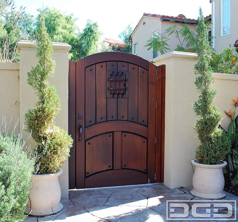 Backyard Fence Door  Architectural Gates 04
