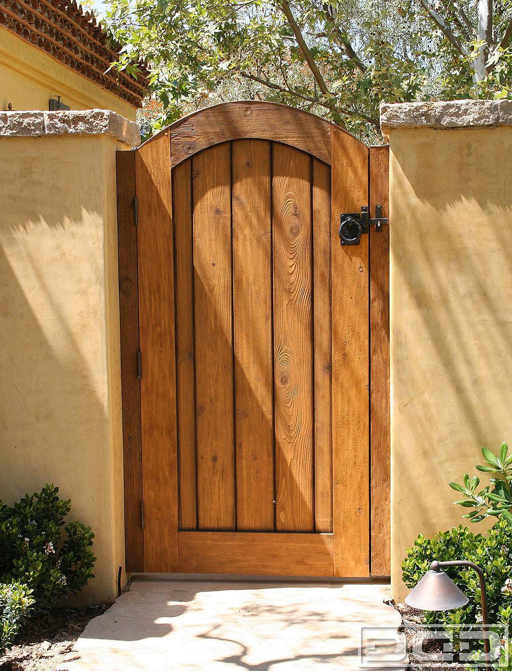 Backyard Fence Door  Architectural Gates 14