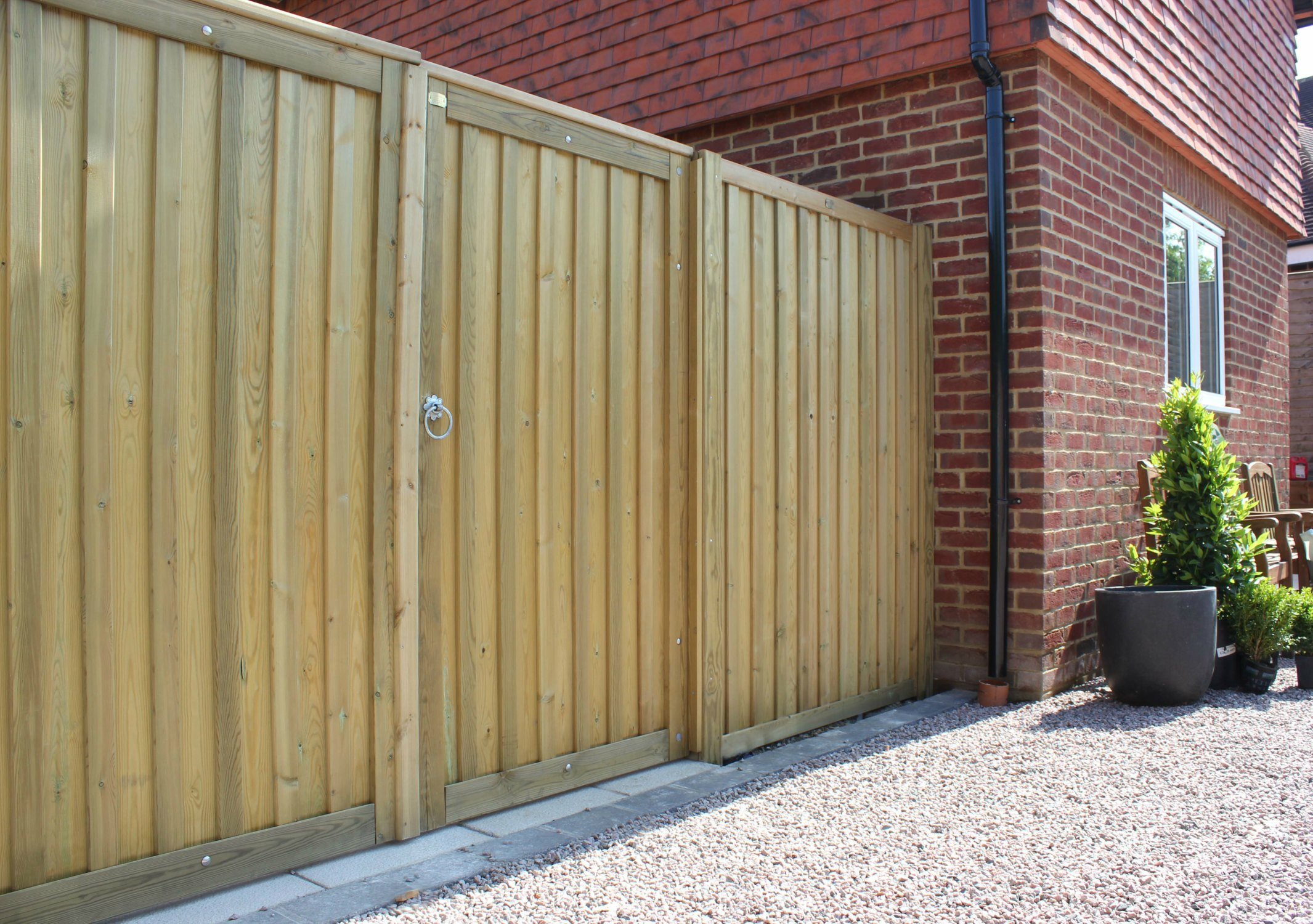 Backyard Fence Door  What to consider when choosing garden fencing Growing Family
