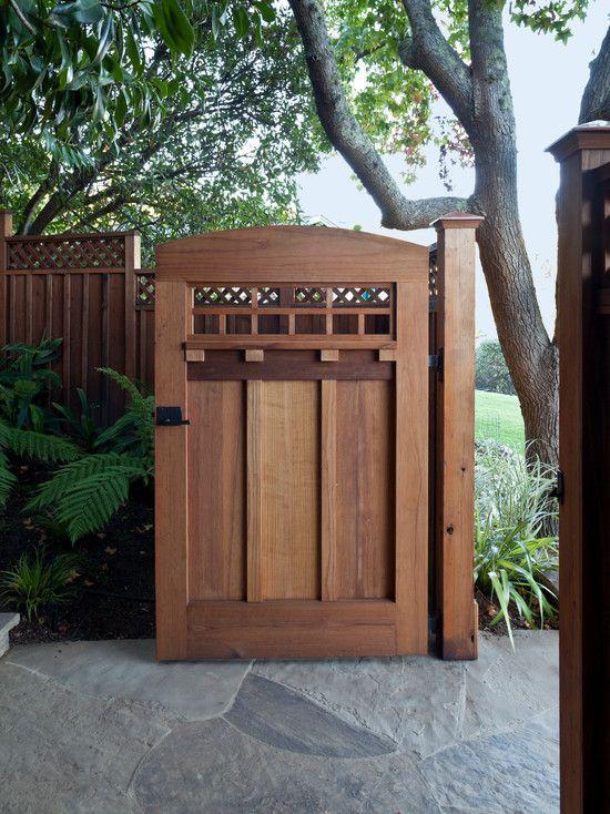 Backyard Fence Door  Wooden Garden Gates Designs WoodWorking Projects & Plans