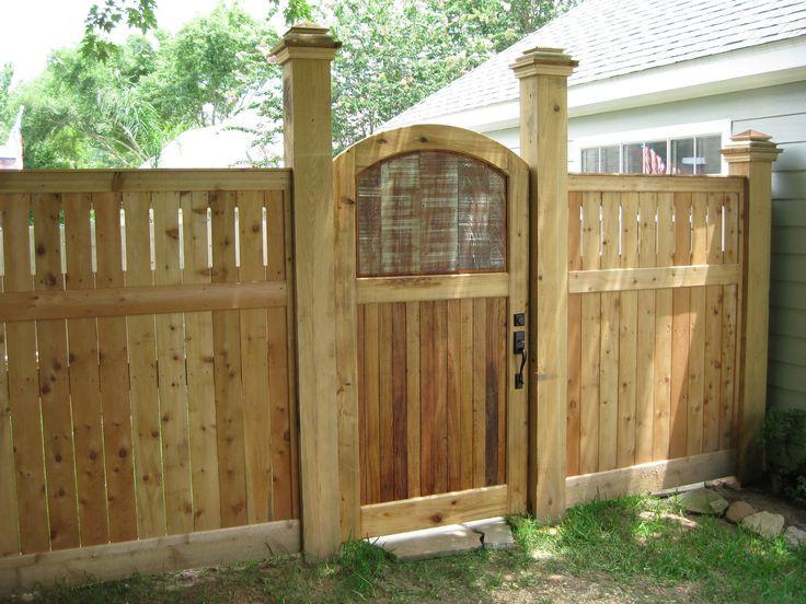 Backyard Fence Door  60 best backyard gate ideas images on Pinterest