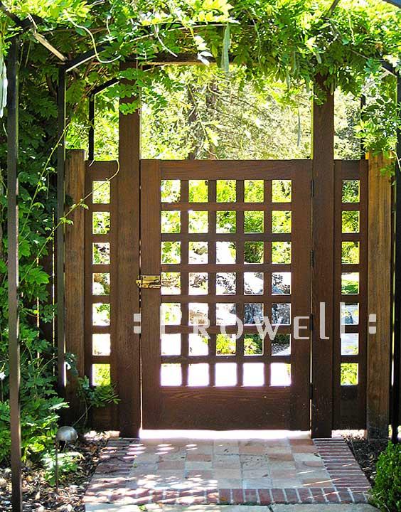 Backyard Fence Door  Landscape Inspirations 10 Most Beautiful Garden Entries