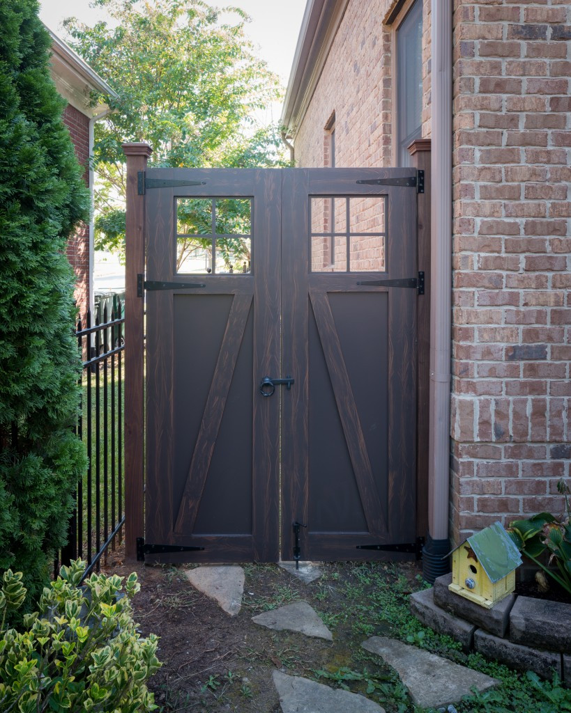 Backyard Fence Door  Express your Personality With a GATE The Porch pany