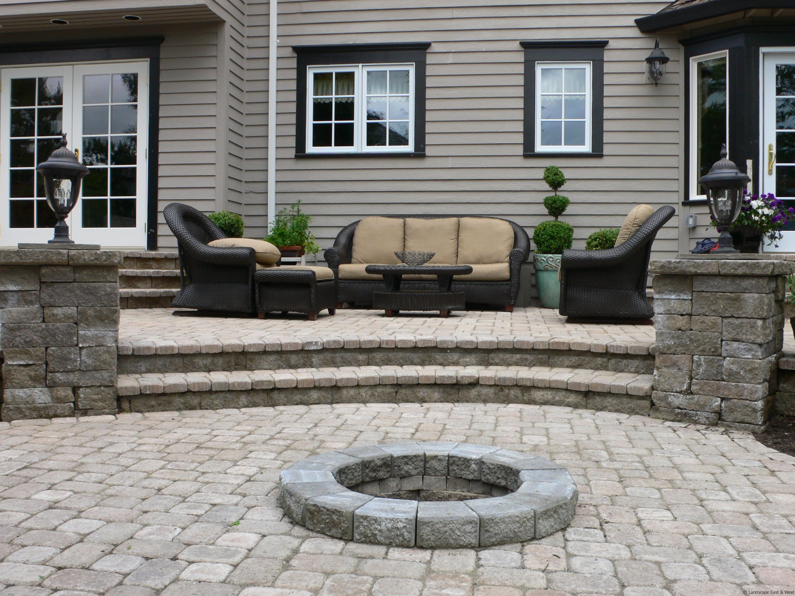 Backyard Patio Paver Design Ideas  5 Ways to Improve Patio Designs for Portland Landscaping