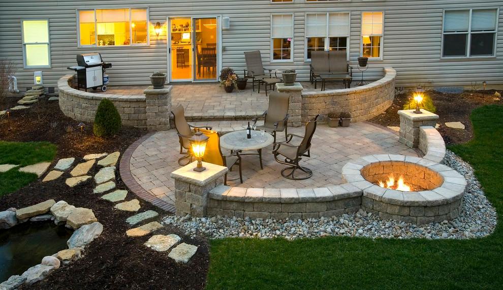 Backyard Patio Paver Design Ideas  24 Paver Patio Designs Garden Designs