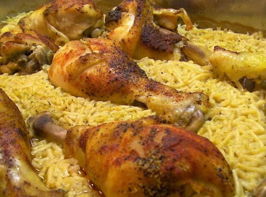 Baked Chicken And Rice Recipe  Ridiculously Easy Baked Chicken With Rice Recipe