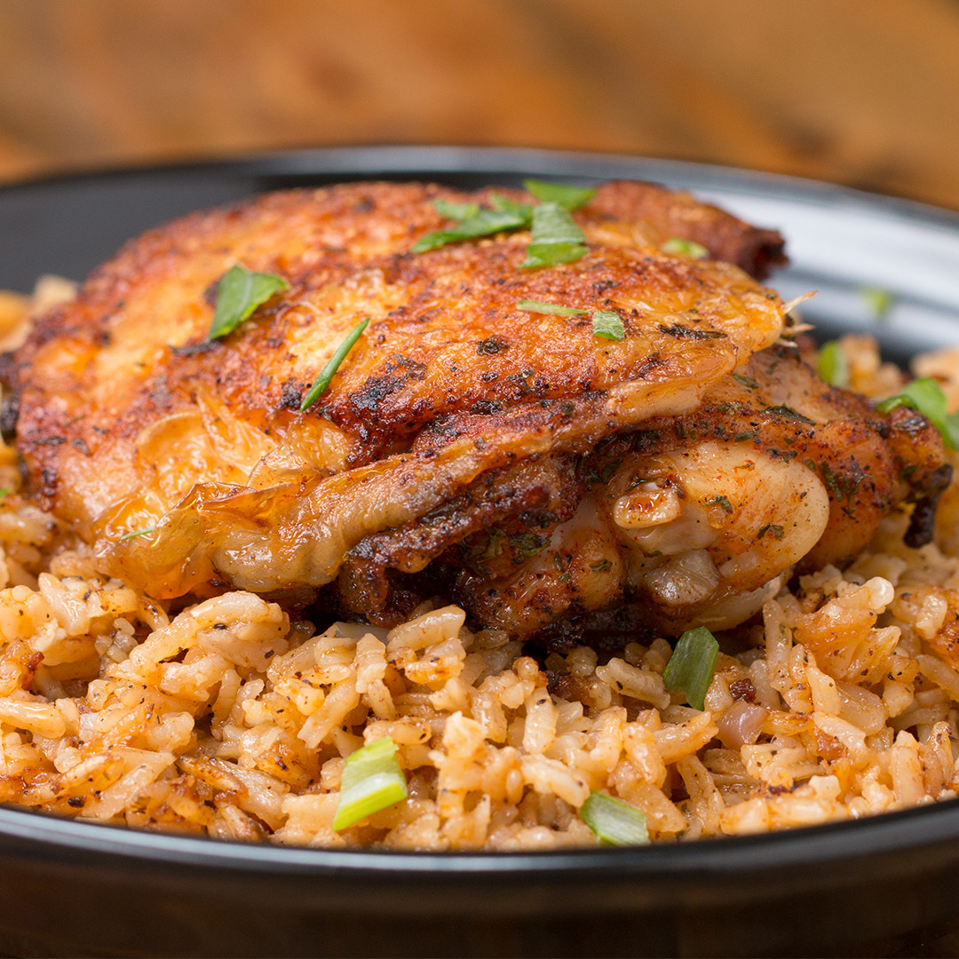 Baked Chicken And Rice Recipe  Paprika Chicken & Rice Bake Recipe by Tasty