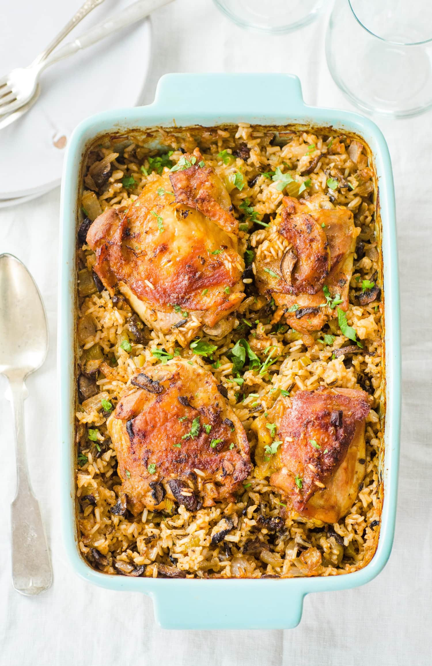 Baked Chicken And Rice Recipe  Recipe Chicken and Wild Rice Bake