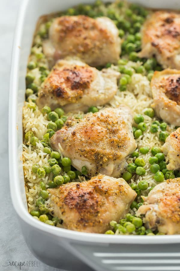 Baked Chicken And Rice Recipe  7 Ingre nt Chicken and Rice Bake The Recipe Rebel