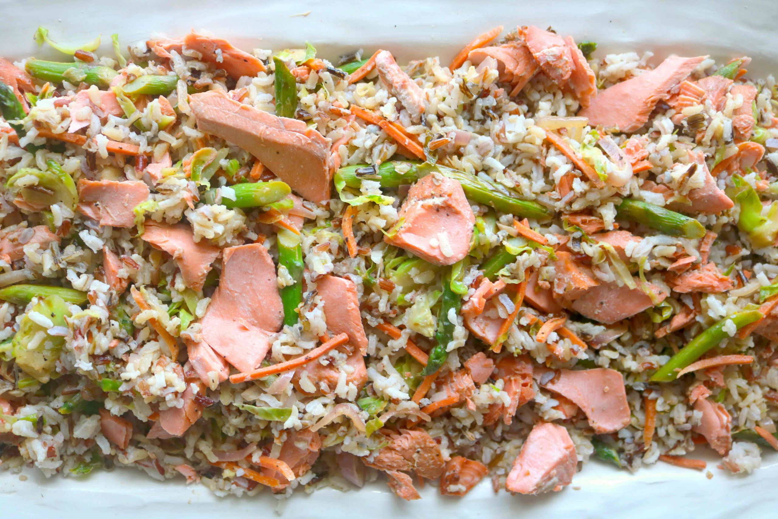 Baked Salmon Salad Recipe  Salmon and Rice The Anthony Kitchen
