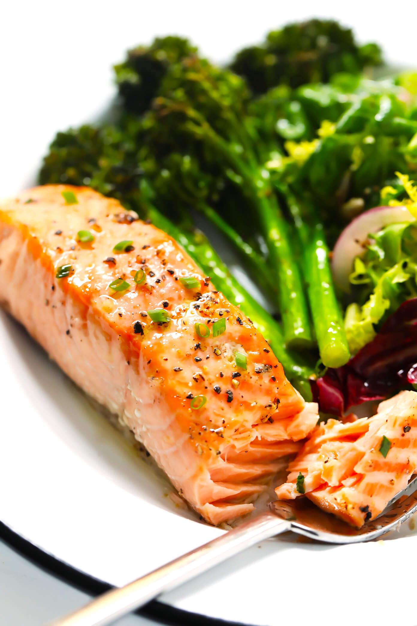 Baked Salmon Salad Recipe  Baked Salmon