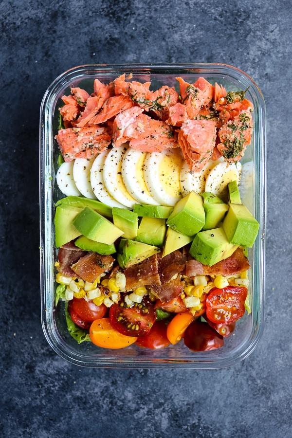Baked Salmon Salad Recipe  Grilled Salmon Salad
