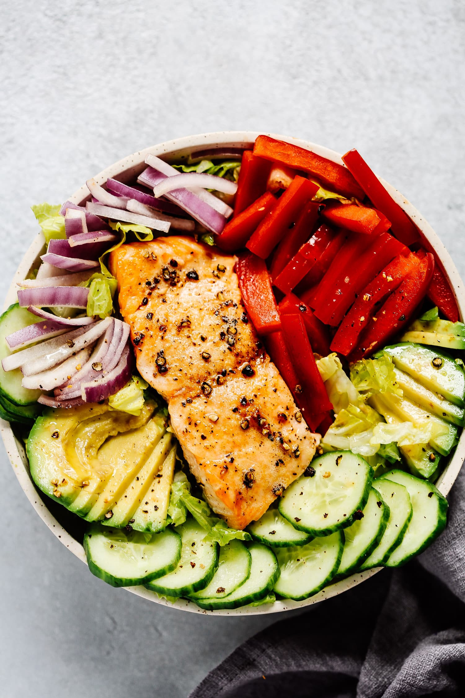 Baked Salmon Salad Recipe  Easy Salmon Salad Recipe Healthy Lunch for Busy Days