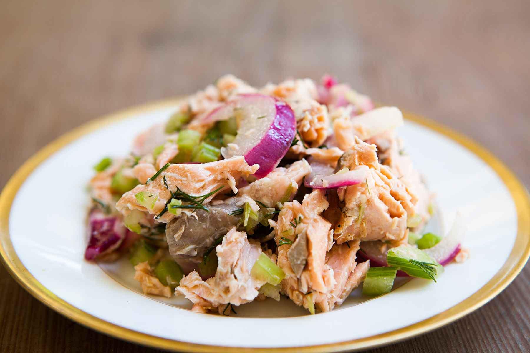 Baked Salmon Salad Recipe  Salmon Salad Recipe