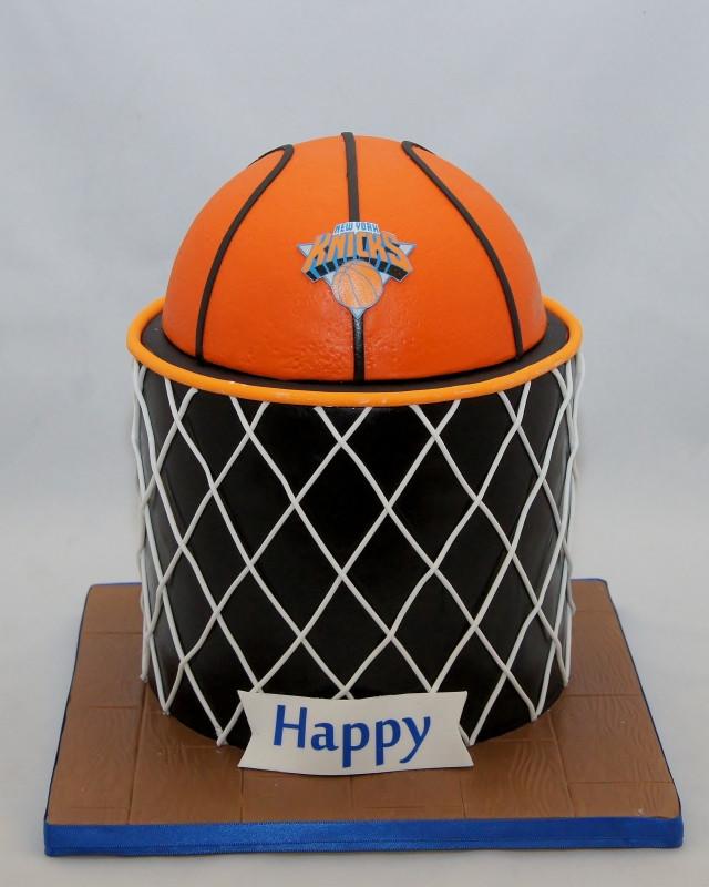 Basketball Birthday Cakes  Basketball & Net Birthday Cake