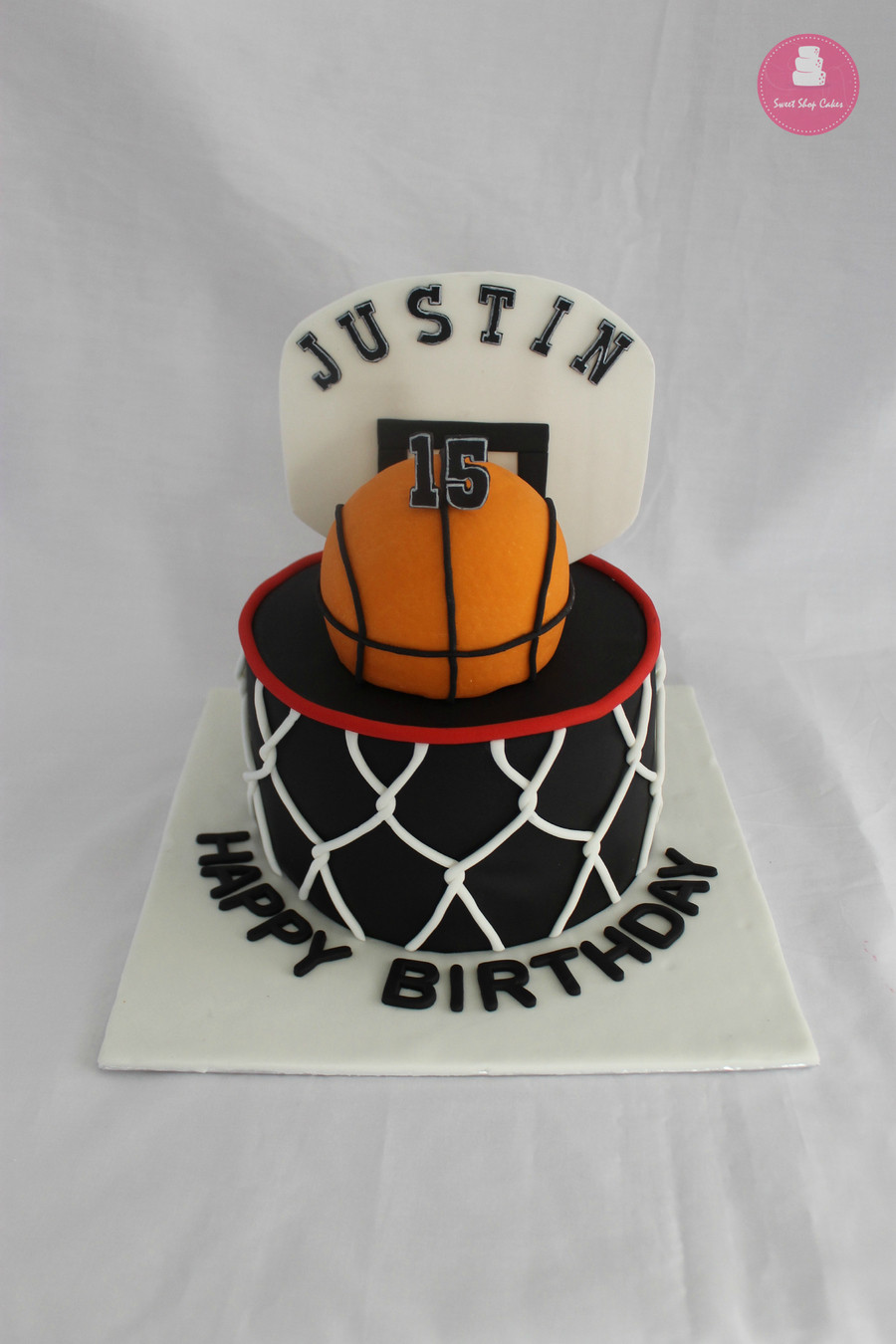 Basketball Birthday Cakes  Friday Night Cake Club For 10 30 15 CakeCentral