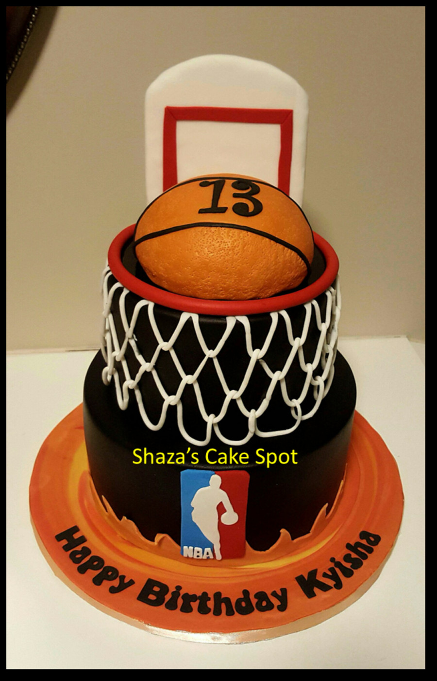 Basketball Birthday Cakes  Basketball Cake CakeCentral