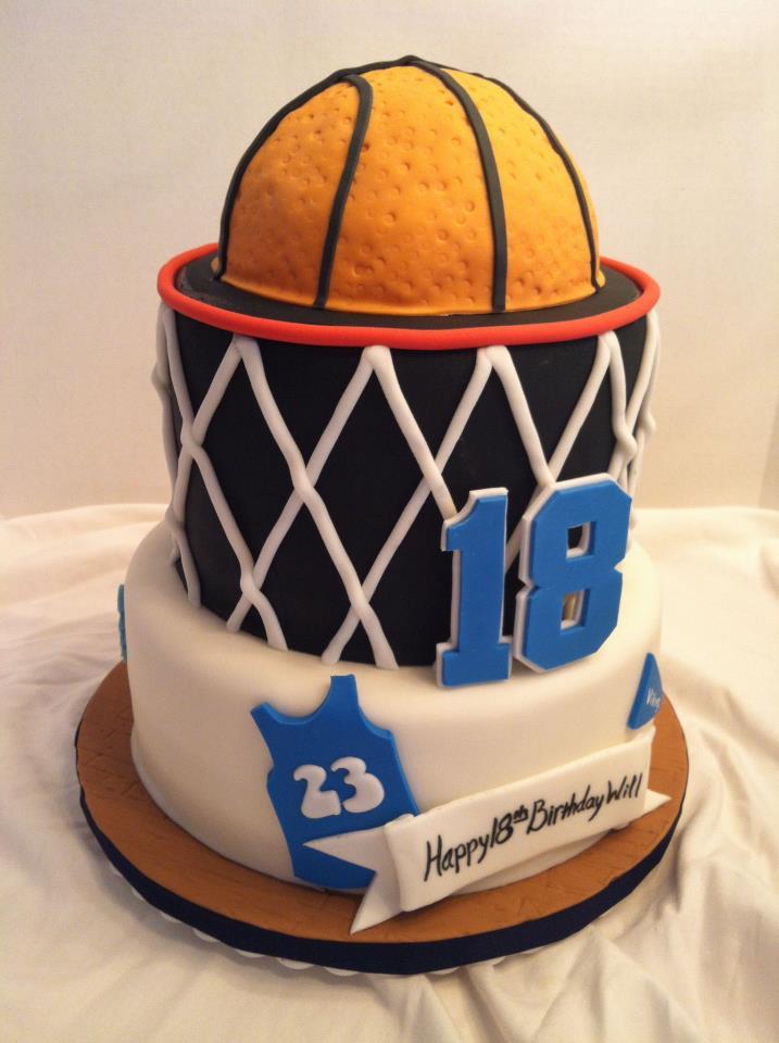 Basketball Birthday Cakes  Cakes by Becky Basketball Birthday Cake