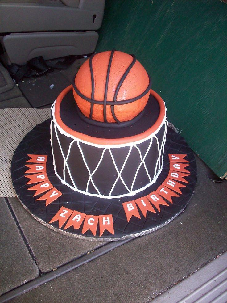 Basketball Birthday Cakes  Basketball Birthday Cake