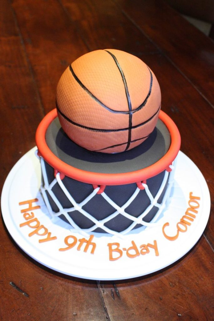 Basketball Birthday Cakes  Some Cool Basketball Themed Cakes Basketball Cake Ideas