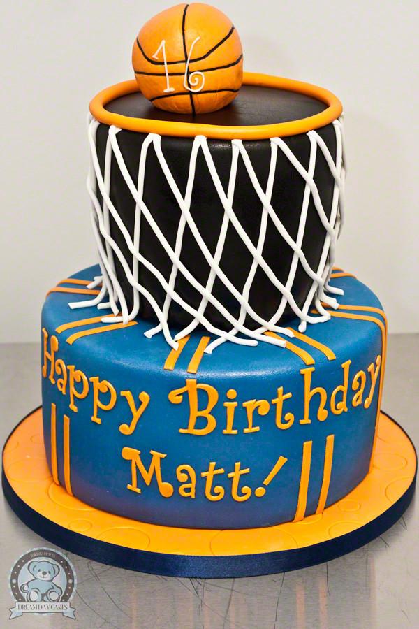 Basketball Birthday Cakes  Birthday Cakes for Gainesville Florida
