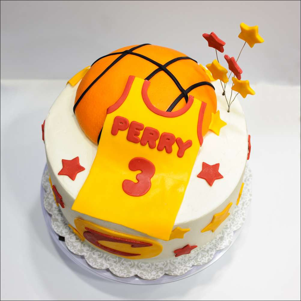Basketball Birthday Cakes  Cavaliers Basketball Birthday Cake