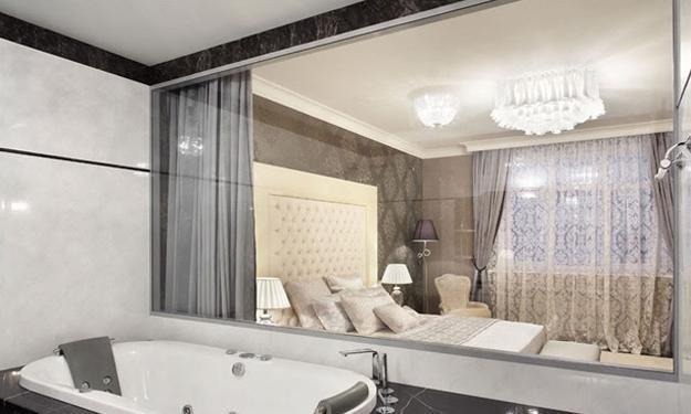 Bathroom Divider Walls  Glass Partition Wall Design Ideas and Room Dividers