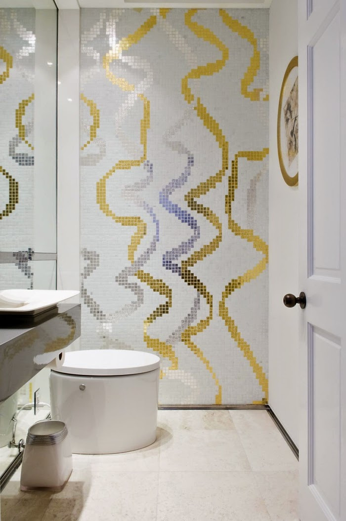 Bathroom Divider Walls  Bathroom design ideas for how to give privacy for the