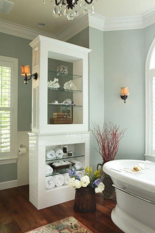 Bathroom Divider Walls  Bathroom Design Ideas Half Wall