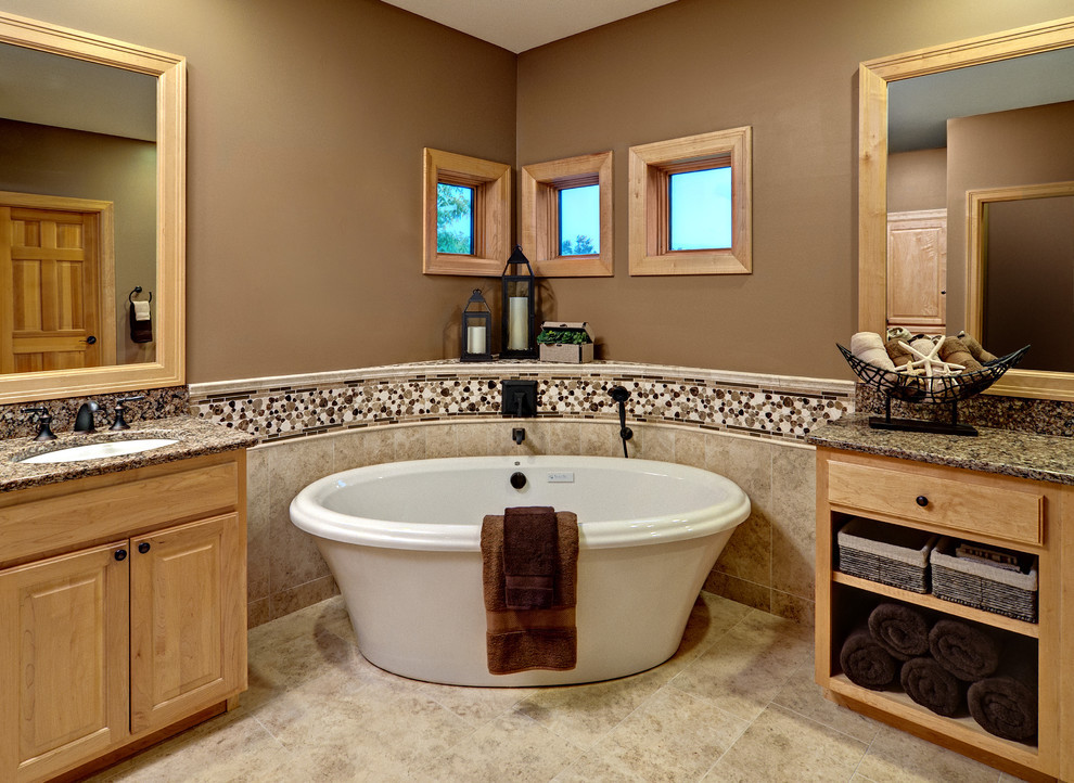 Bathroom Remodel Plymouth Mn  Master Bath Eclectic Bathroom Minneapolis by LORI