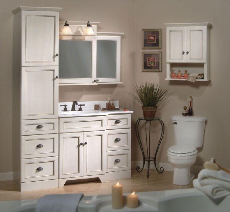 Bathroom Vanity With Linen Cabinet  Matching Bathroom Vanity And Linen Cabinet Bathroom