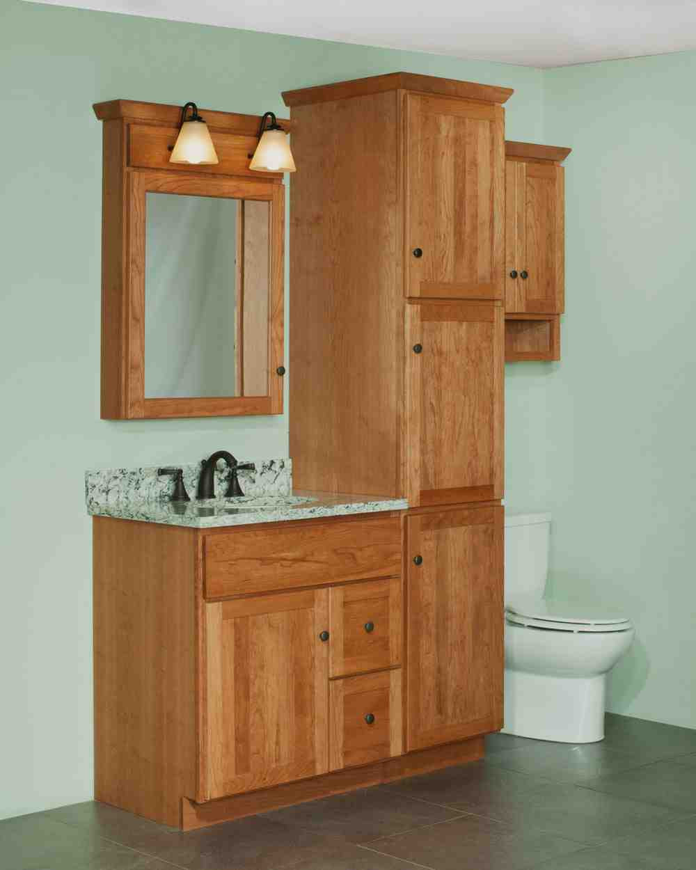 Bathroom Vanity With Linen Cabinet  Bathroom Vanity and Linen Cabinet Sets Home Furniture Design