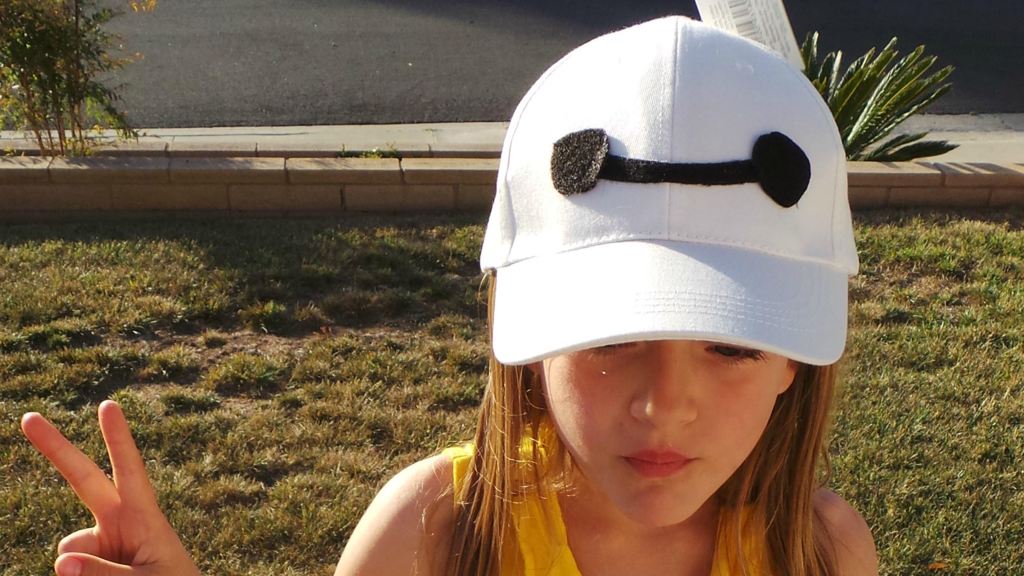 Baymax Costume DIY  Easy DIY Baymax Hat