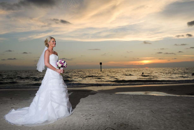 Beach Weddings Florida  Florida Sunset Magic Suncoast WeddingsSuncoast Weddings
