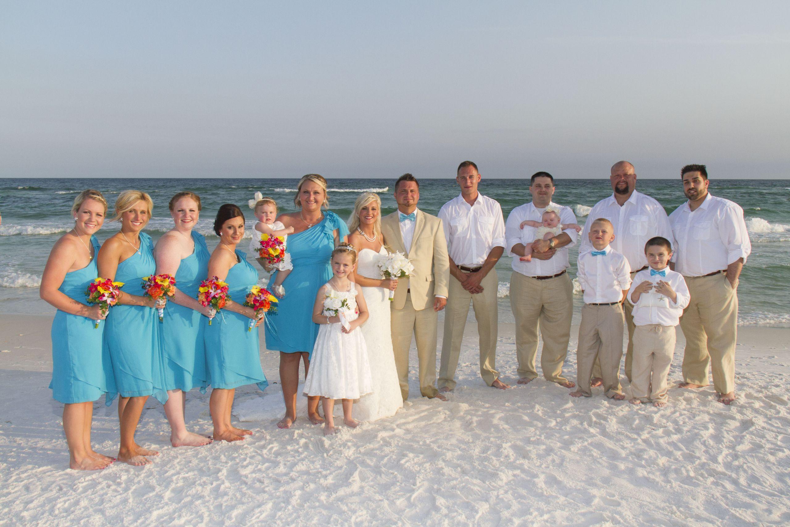 Beach Weddings Florida  Destin Florida Barefoot Beach Wedding – Barefoot Weddings