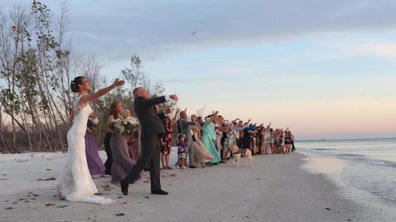 Beach Weddings Florida  Rustic Florida Beach Wedding