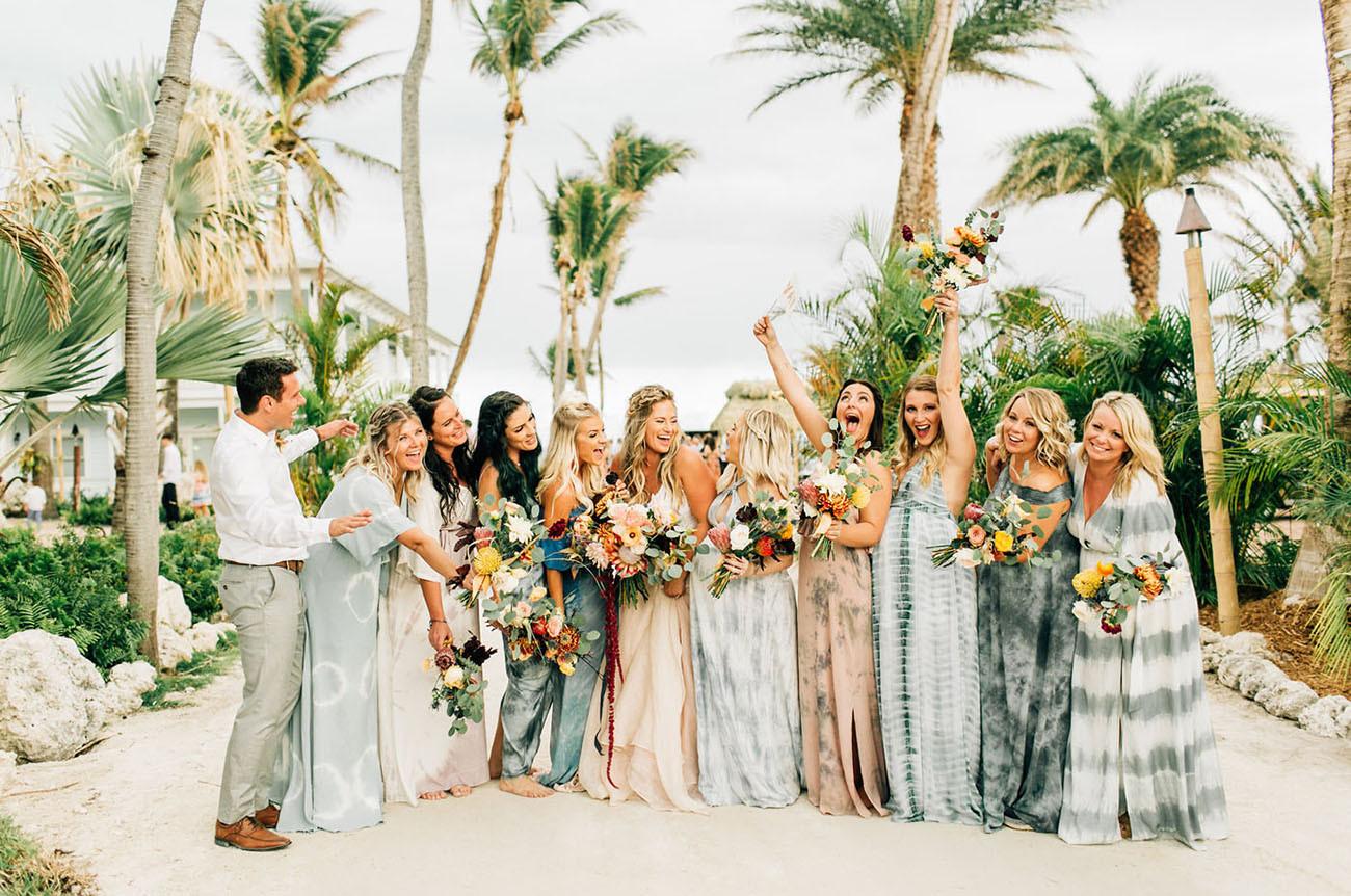 Beach Weddings Florida  Tropical Laid Back Beach Front Wedding in the Florida