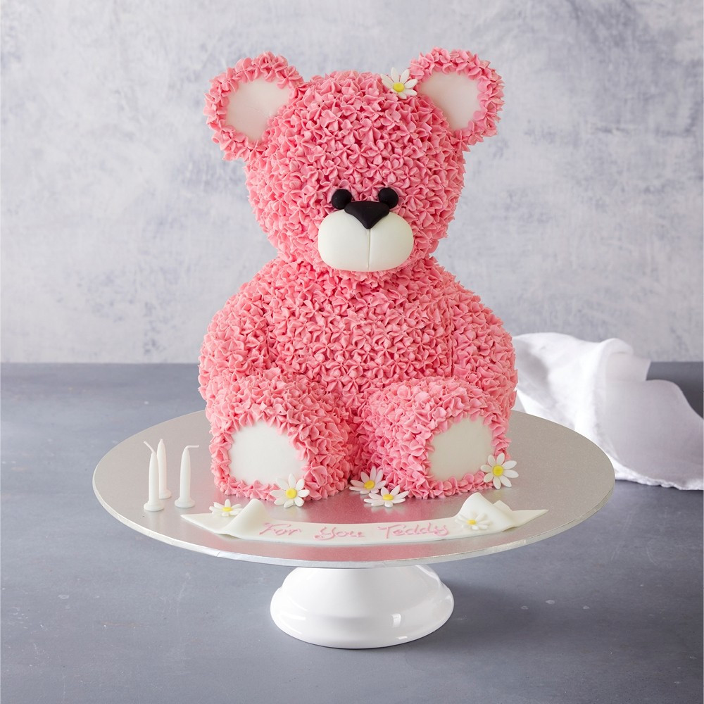 Bear Birthday Cake  Teddy Bear Birthday Cake
